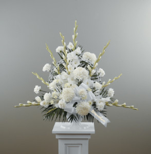 White Flower Arrangement CTT12-11_D19 $135.00